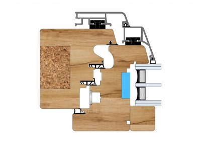 Serramenti in legno - Profilo Serie 125 - Excell - Cobola